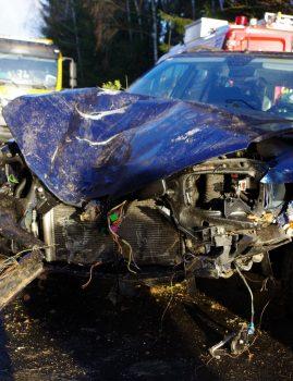 Verkehrsunfall in Neustadt