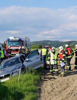 Verkehrsunfall in Wörgersdorf