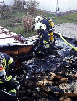 Brandeinsatz Tragweinerstraße