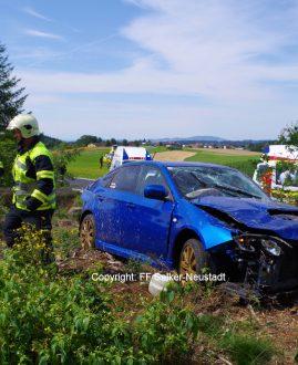 Verkehrsunfall in Selker