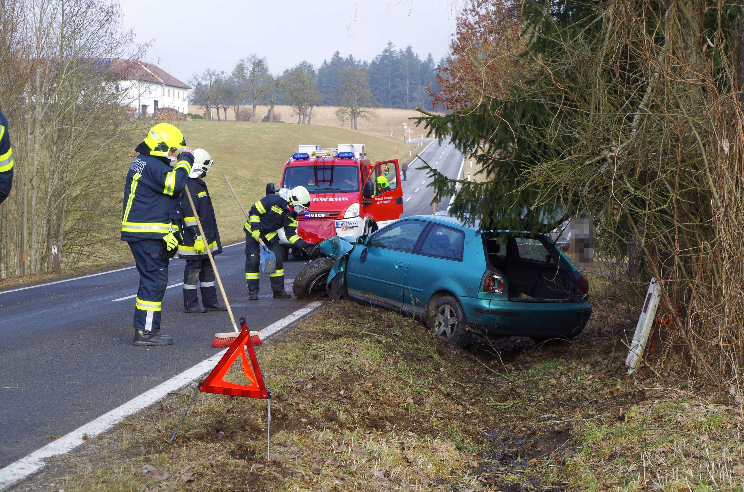 Verkehrsunfall in Netzberg