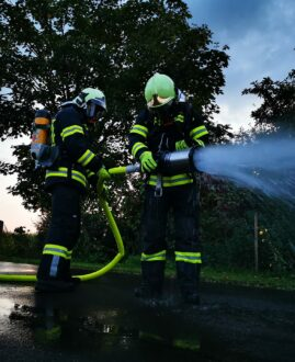 Training für das Branddienstleistungsabzeichen